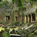 There was a time when nearly 300000 people helped run this temple